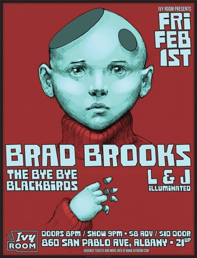 Ivy Room Friday Feb 1st (Brad Brooks, The Bye Bye Blackbirds, L & J Illuminated)